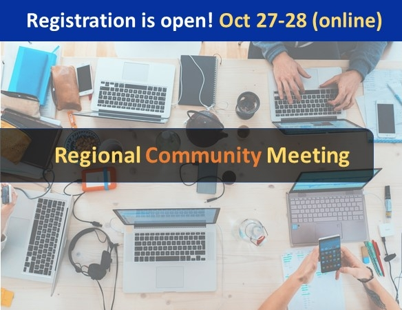 Registration is open for the 2021 MBDH Regional Community Meeting. October 27-28, online.